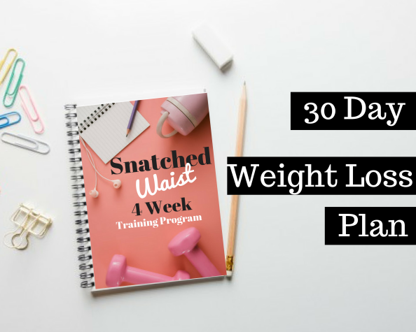 30 Day Weight Loss Plan